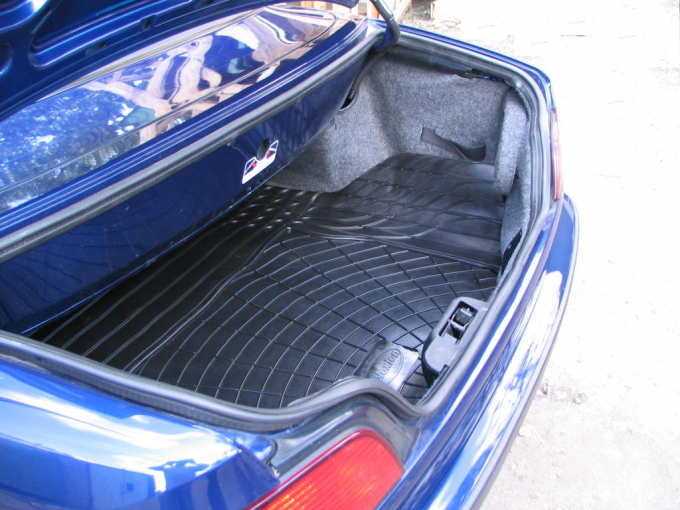 peugeot 307 cc convertible rubber boot mat liner options bumper protector ebay. Black Bedroom Furniture Sets. Home Design Ideas