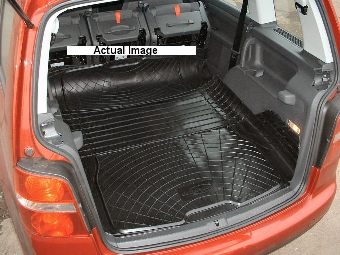 ... Automotive Boot Liner Mat Pair Volkswagen Touran Load Space ALL YEARS