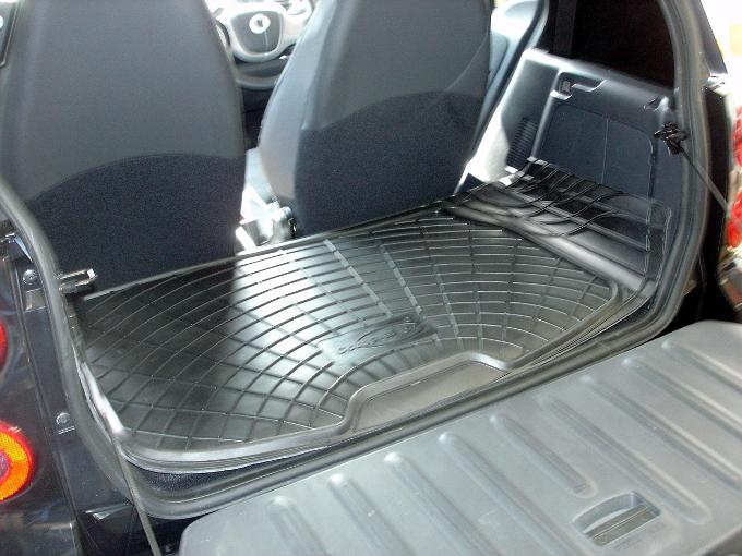 mercedes w451 smart fortwo ab 07 gummi kofferraum. Black Bedroom Furniture Sets. Home Design Ideas