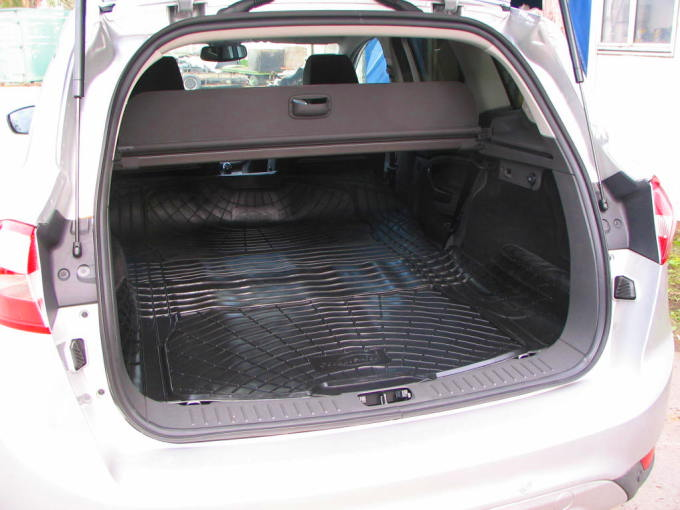 Boot Liner Mat Pair Ford Kuga Load Space