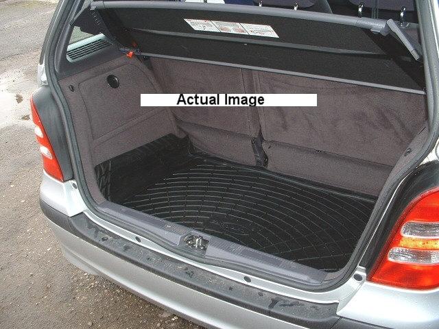 mercedes w168 a klasse 5dr gummi kofferraum verkleidung hunde matte ebay. Black Bedroom Furniture Sets. Home Design Ideas