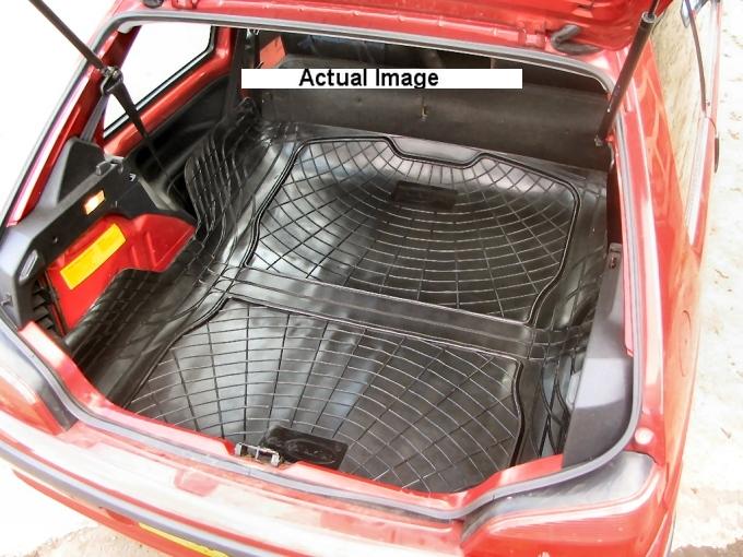 Complexion Automotive Boot Liner Mat Pair Peugeot 106 Load