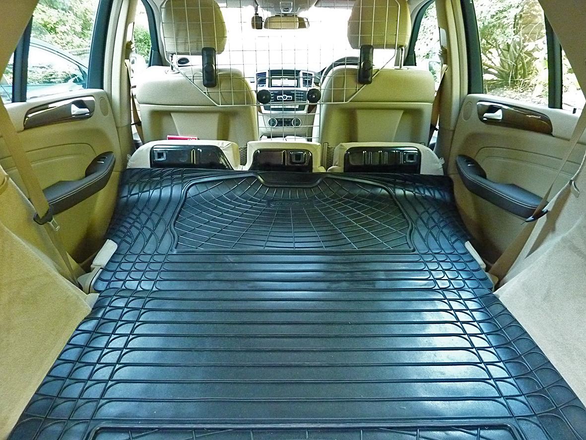 Mercedes m class w166 ml rubber boot mat liner options for Mercedes benz ml350 rubber floor mats