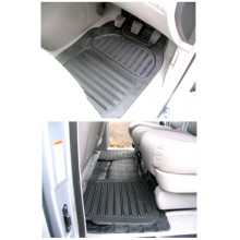 Kia Sedona Floor Mats (2005 on) Rubber Floor Mats (4)