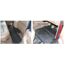 Land Rover Discovery Series 1 (PRE 1988) Rubber Floor Mats (4)