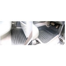 Mitsubishi L200 Warrior (PRE 06) Rubber Floor Mats (4)