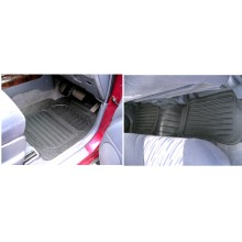 Toyota Landcruiser (03 ON) Rubber Floor Mats (4)
