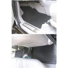 Toyota Hilux Vigo Double Cab (2006 ON) Rubber Floor Mats (4)