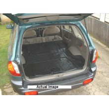 Hyundai Santa Fe Moulded Rubber Load Space Mats