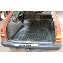 Mercedes W124 Estate Moulded Rubber Load Space Mats