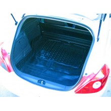 Renault Clio Van Moulded Rubber Load Space Mats