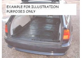 Toyota Landcruiser Moulded Rubber Load Space Mats