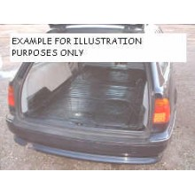 Volvo V50 Moulded Rubber Load Space Mats