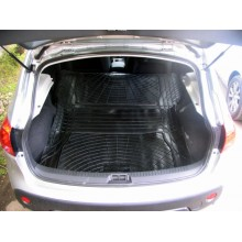 Nissan Qashqai Moulded Rubber Load Space Mats